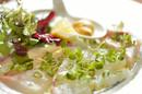 新鮮天草地魚のカルパッチョ